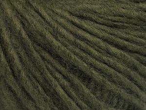 Composition 100% Acrylique, Khaki, Brand ICE, Yarn Thickness 4 Medium  Worsted, Afghan, Aran, fnt2-60227