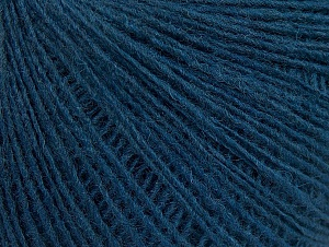 Composition 50% Laine mérinos, 25% Alpaga, 25% Acrylique, Brand ICE, Dark Teal, Yarn Thickness 2 Fine  Sport, Baby, fnt2-60234