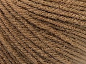 Composition 100% Laine mérinos, Brand ICE, Camel, Yarn Thickness 4 Medium  Worsted, Afghan, Aran, fnt2-60243