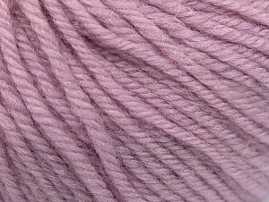 Composition 100% Laine mérinos, Lilac, Brand ICE, Yarn Thickness 4 Medium  Worsted, Afghan, Aran, fnt2-60245
