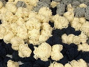Peru Alpaca Leftover This mixed lot includes about 100 hanks of Peru Alpaca leftover yarns. There is no standard for fiber content and weight. The total weight is 2000 gr (70.5 oz.). Composition 50% Laine mérinos, 25% Acrylique, 25% Alpaga, Brand ICE, fnt2-60275