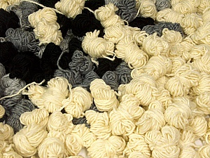 Peru Alpaca Leftover This mixed lot includes about 100 hanks of Peru Alpaca leftover yarns. There is no standard for fiber content and weight. The total weight is 2000 gr (70.5 oz.). Composition 50% Laine mérinos, 25% Acrylique, 25% Alpaga, Brand ICE, fnt2-60278