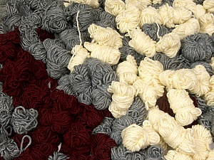 Peru Alpaca Leftover This mixed lot includes about 100 hanks of Peru Alpaca leftover yarns. There is no standard for fiber content and weight. The total weight is 2000 gr (70.5 oz.). Composition 50% Laine mérinos, 25% Alpaga, 25% Acrylique, Brand ICE, fnt2-60307