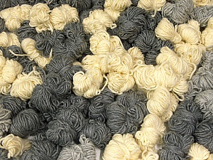 Peru Alpaca Leftover This mixed lot includes about 100 hanks of Peru Alpaca leftover yarns. There is no standard for fiber content and weight. The total weight is 2000 gr (70.5 oz.). Composition 50% Laine mérinos, 25% Alpaga, 25% Acrylique, Brand ICE, fnt2-60309