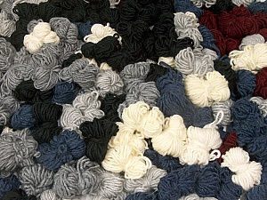 Peru Alpaca Leftover This mixed lot includes about 100 hanks of Peru Alpaca leftover yarns. There is no standard for fiber content and weight. The total weight is 2000 gr (70.5 oz.). Composition 50% Laine mérinos, 25% Acrylique, 25% Alpaga, Brand ICE, fnt2-60311