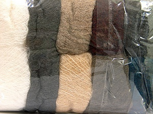 Kid Mohair  Mixed Lot, Brand ICE, fnt2-60324