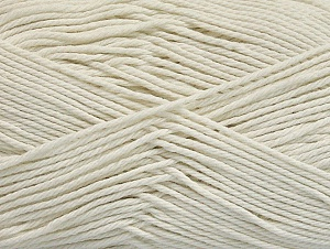 Baby cotton is a 100% premium giza cotton yarn exclusively made as a baby yarn. It is anti-bacterial and machine washable! Composition 100% Coton de Gizeh, Off White, Brand ICE, fnt2-60370