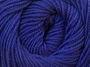 Fiber Content 100% Wool, Purple, Brand ICE, Yarn Thickness 3 Light  DK, Light, Worsted, fnt2-34720