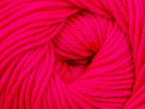 Fiber Content 60% Premium Acrylic, 40% Merino Wool, Brand ICE, Fluorescent Pink, Yarn Thickness 2 Fine  Sport, Baby, fnt2-35567