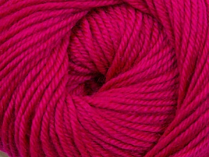 Fiber Content 60% Premium Acrylic, 40% Merino Wool, Brand ICE, Fuchsia, Yarn Thickness 2 Fine  Sport, Baby, fnt2-35569