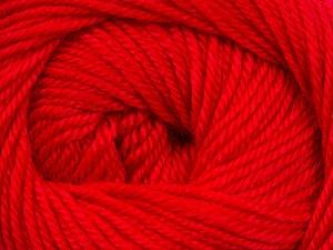 Fiber Content 60% Premium Acrylic, 40% Merino Wool, Red, Brand ICE, Yarn Thickness 2 Fine  Sport, Baby, fnt2-35570
