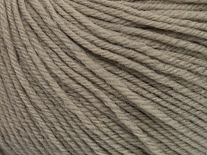 SUPERWASH WOOL is a DK weight 100% superwash wool yarn. Perfect stitch definition, and a soft-but-sturdy finished fabric. Projects knit and crocheted in SUPERWASH WOOL are machine washable! Lay flat to dry. Fiber Content 100% Superwash Wool, Brand ICE, Beige, Yarn Thickness 3 Light  DK, Light, Worsted, fnt2-42921