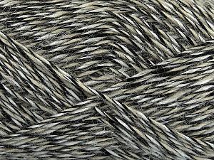 Fiber Content 60% Acrylic, 15% Wool, 15% Mohair, 10% Polyamide, White, Brand ICE, Black, Beige, fnt2-47837