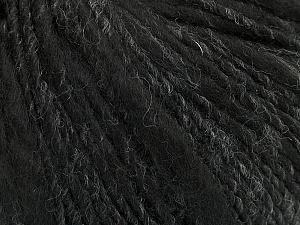 Fiber Content 60% Acrylic, 40% Wool, Brand ICE, Grey Shades, Black, fnt2-48635