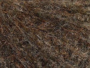 Fiber Content 30% Wool, 30% Acrylic, 28% Polyester, 12% Polyamide, Brand ICE, Brown Shades, fnt2-48966