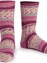 Fiber Content 75% Superwash Wool, 25% Polyamide, Pink, Maroon, Brand ICE, Grey, Cream, Yarn Thickness 1 SuperFine  Sock, Fingering, Baby, fnt2-55540