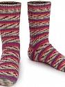 Fiber Content 75% Superwash Wool, 25% Polyamide, Purple, Orange, Light Salmon, Brand ICE, Grey, Yarn Thickness 1 SuperFine  Sock, Fingering, Baby, fnt2-55545