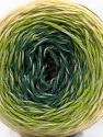 Fiber Content 75% Superwash Wool, 25% Polyamide, Brand ICE, Grey, Green Shades, Cream, Yarn Thickness 1 SuperFine  Sock, Fingering, Baby, fnt2-57336