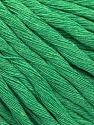 Composition 100% Coton, Brand ICE, Green, Yarn Thickness 5 Bulky  Chunky, Craft, Rug, fnt2-57942