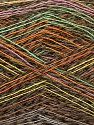 Composition 40% Baby Alpaga, 40% Polyamide, 20% Coton, White, Pink, Orange, Brand ICE, Green, Brown Shades, Yarn Thickness 1 SuperFine  Sock, Fingering, Baby, fnt2-57950