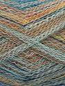 Composition 40% Baby Alpaga, 40% Polyamide, 20% Coton, Yellow, Orange, Brand ICE, Grey, Blue, fnt2-57987