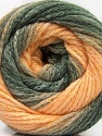 Composition 90% Acrylique, 10% Polyamide, Light Salmon, Brand ICE, Grey Shades, Yarn Thickness 4 Medium  Worsted, Afghan, Aran, fnt2-58123