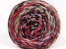 Composition 70% Acrylique, 30% Laine, Pink Shades, Navy, Mint Green, Brand ICE, Yarn Thickness 6 SuperBulky  Bulky, Roving, fnt2-58152