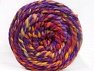 Composition 70% Acrylique, 30% Laine, Yellow, Red, Purple, Orange, Brand ICE, Yarn Thickness 6 SuperBulky  Bulky, Roving, fnt2-58153