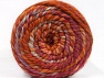 Composition 70% Acrylique, 30% Laine, Orchid, Orange, Light Blue, Brand ICE, Copper, Yarn Thickness 6 SuperBulky  Bulky, Roving, fnt2-58154