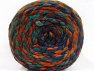 Composition 70% Acrylique, 30% Laine, Purple, Brand ICE, Green Shades, Copper, Yarn Thickness 6 SuperBulky  Bulky, Roving, fnt2-58155
