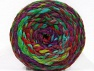 Composition 70% Acrylique, 30% Laine, Turquoise, Red, Purple, Brand ICE, Green Shades, Yarn Thickness 6 SuperBulky  Bulky, Roving, fnt2-58156