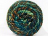 Composition 70% Acrylique, 30% Laine, Turquoise, Brand ICE, Green Shades, Brown Shades, Yarn Thickness 6 SuperBulky  Bulky, Roving, fnt2-58158