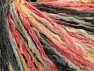 Composition 50% Coton, 50% Acrylique, Yellow, Pink, Brand ICE, Grey Shades, Yarn Thickness 4 Medium  Worsted, Afghan, Aran, fnt2-58160