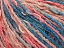 Composition 50% Acrylique, 50% Coton, Pink Shades, Brand ICE, Blue Shades, Yarn Thickness 4 Medium  Worsted, Afghan, Aran, fnt2-58168