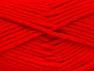 Composition 72% Acrylique haut de gamme, 3% Métallique Lurex, 25% Laine, Red, Brand ICE, fnt2-58207