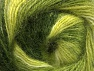 Composition 50% Mohair, 50% Acrylique, Brand ICE, Green Shades, fnt2-58364