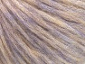 Composition 40% Acrylique, 30% Laine, 30% Polyamide, Lilac Melange, Brand ICE, Yarn Thickness 4 Medium  Worsted, Afghan, Aran, fnt2-58409