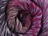 Composition 70% Laine, 30% Acrylique, Purple Shades, Brand ICE, Fuchsia, Brown, Yarn Thickness 5 Bulky  Chunky, Craft, Rug, fnt2-58436