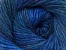 Composition 70% Dralon, 30% Laine, Teal, Purple, Brand ICE, Blue Shades, Yarn Thickness 4 Medium  Worsted, Afghan, Aran, fnt2-58448