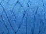 Composition 100% Recycled Cotton, Light Blue, Brand ICE, Yarn Thickness 6 SuperBulky  Bulky, Roving, fnt2-60130
