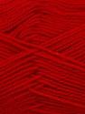 Fiber Content 100% Virgin Wool, Red, Brand ICE, Yarn Thickness 3 Light  DK, Light, Worsted, fnt2-42317