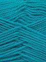 Fiber Content 100% Virgin Wool, Turquoise, Brand ICE, Yarn Thickness 3 Light  DK, Light, Worsted, fnt2-42318