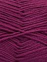 Fiber Content 55% Virgin Wool, 5% Cashmere, 40% Acrylic, Purple, Brand ICE, Yarn Thickness 2 Fine  Sport, Baby, fnt2-47160